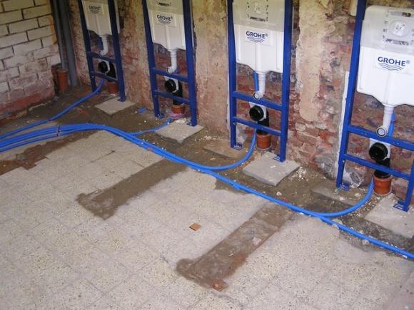 Vzw laiterie werken for Fotos wc hangen tegel